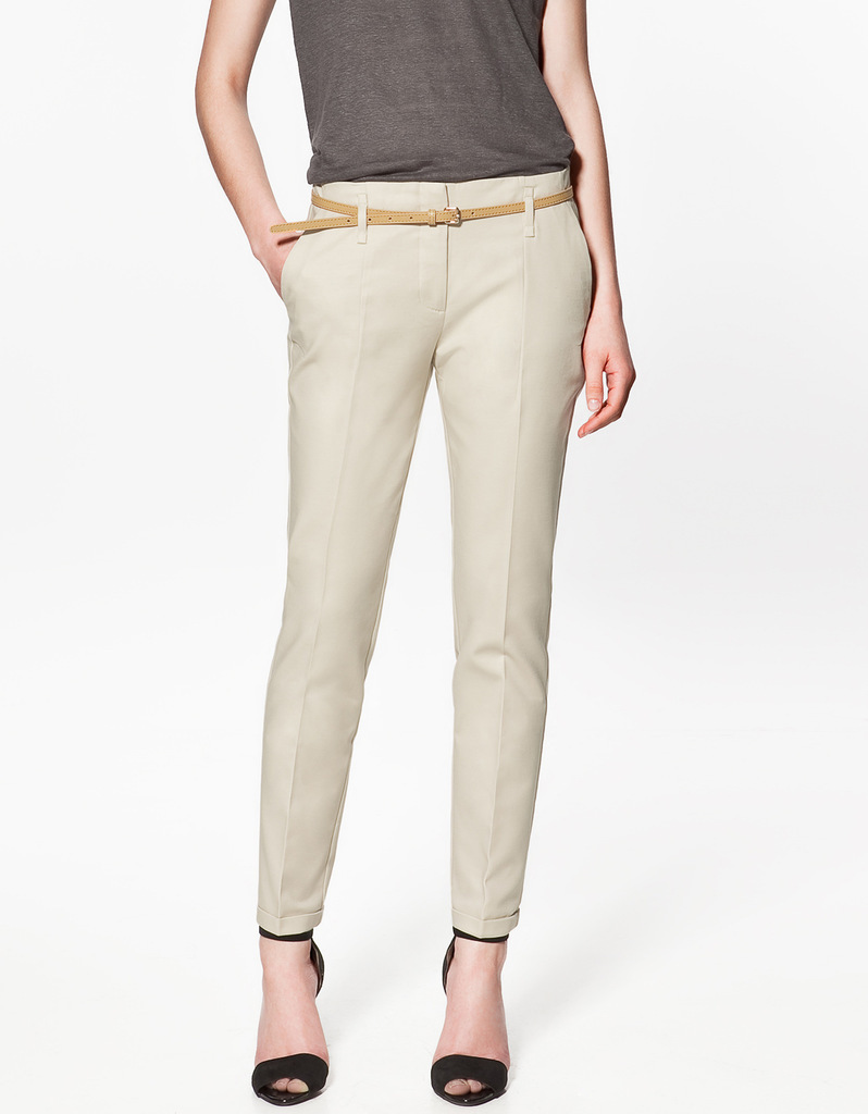 Women's trousers are among the most kaleidoscopic pieces of clothing in terms of all the many ways in which you can pair them with different combinations of shoes, jackets and tops. Whether the trousers are cropped, pleated or straight leg, the possibilities for mixing and matching are relentless.