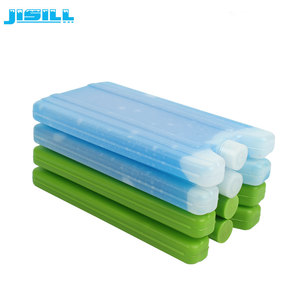 High quality HDPE material food delivery ice keeper hard gel ice pack for cooler bag to frozen food fresh