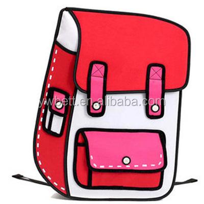2d الرسم الكرتون حقيبة مدرسية 3d حقيبة مدرسية للأطفال على ظهره Buy 2d حقيبة بنقوش كرتونية حقيبة ثلاثية الأبعاد الكرتون حقيبة ظهر للأطفال Product On Alibaba Com