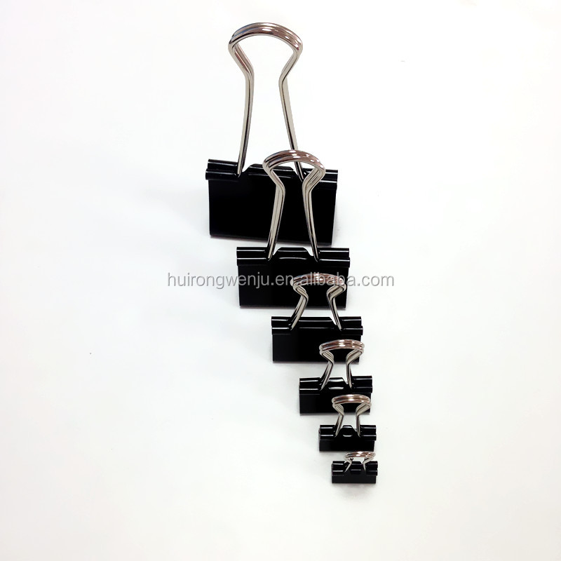 documents paper or tickets metal binder clips 25mm
