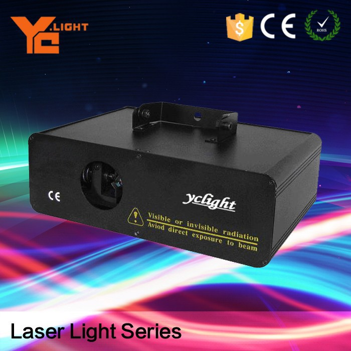RoHS Certified Stage Equipment Producer 1W Rgy Cartoon Laser Red Green Yellow Laser
