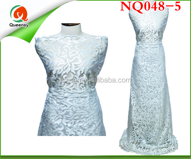 NQ048-5 high quality design reproduce chemical lace new arrival 2015 best quality fine french lace