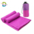 Gym sports suede towel Gym sports towel with zip pocket
