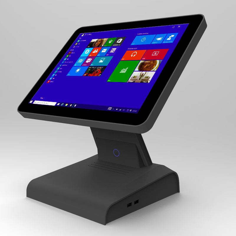 GC086  led customer display 15.6 inch touch screen monitor computer pos cash register