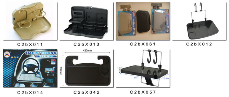 Car seat multi tray