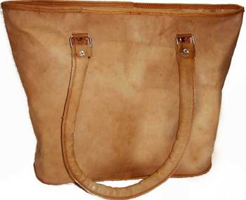 04492bf7d029 Hand Crafted Genuine Leather Ladies Tote Bags And Handbags - Buy ...