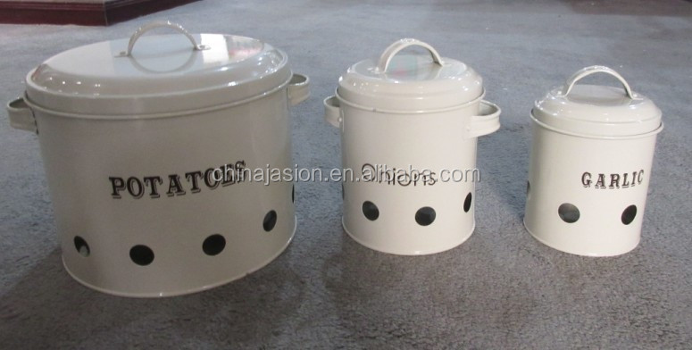 Perfect Household Items Onion/garlic/potato Storage Bin