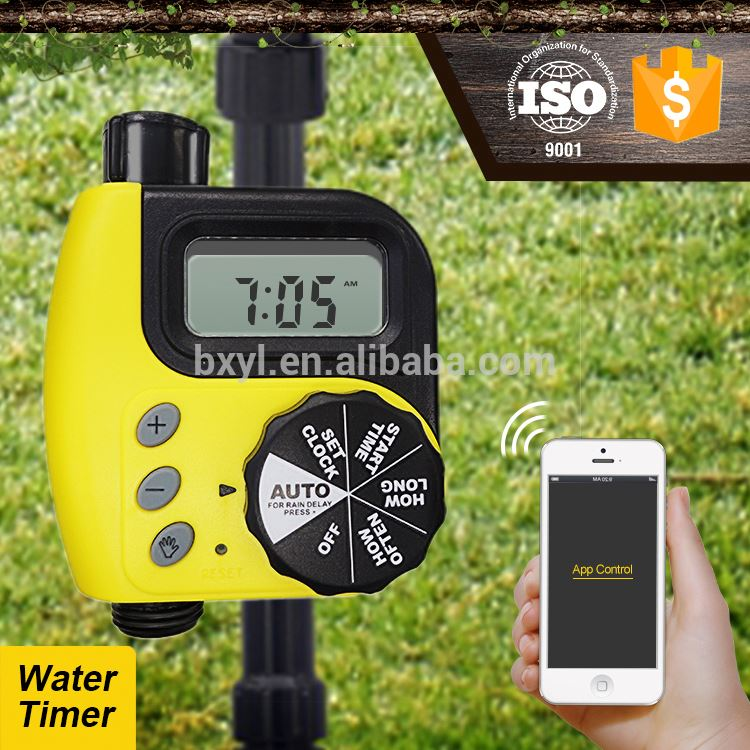 battery operated timer agriculture irrigation water timer