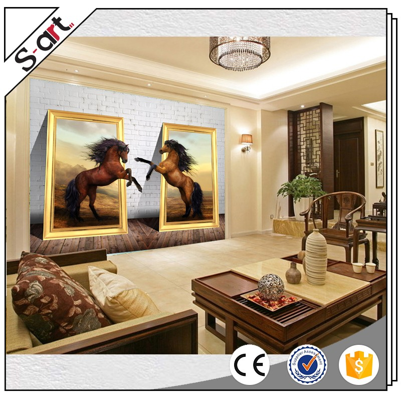 Handpainted Canvas 3d Wall Painting Designs For Home Hotel Cafe ...