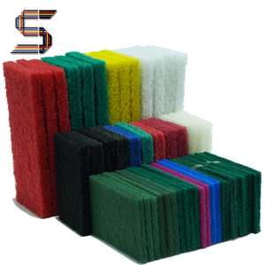 Hot Selling Polyester Fiber Screen Cleaning Scouring Pad