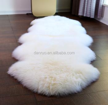Australia Whole Imitation Wool Leather Sofa Carpet Mats Floating