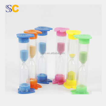 cheap best promotion gift hourglass plastic sand timer 2 minutes