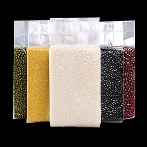 custom plastic vacuum basmati 5kg rice packing bag