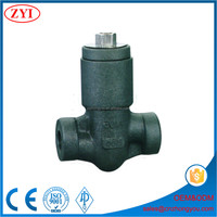 Qualified class 800 900 1500 2500 pressure 1.5 inch forged check valve