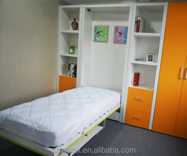 Murphy Bed Name Origin: Kids Folding Wall Bed,Murphy Bed With Table,Hidden Wall
