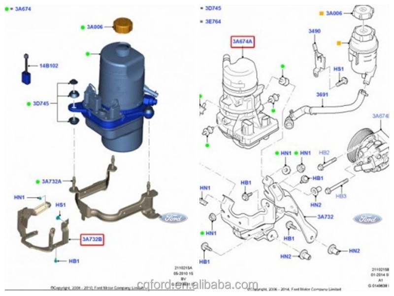 Cheap Electric Power Steering Pump For    Ford       Focus    Oem4m513k514dc  Buy Power Steering Pump