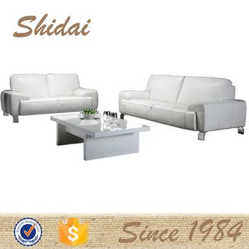 Modern Cowhide Leather Sofa Cheapest Sofa Slim Sofa