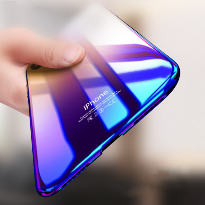 Blue ray wholesale clear phone <strong>case</strong> for iPhone X ultra thin transparent PC <strong>case</strong> phone cover
