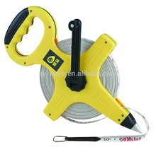 factory direct 50 meter steel tape measure gold supplier