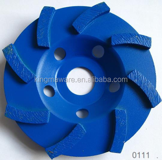 Diamond Turbo Rim Segment Stone Grinding Wheel for Granite Marble