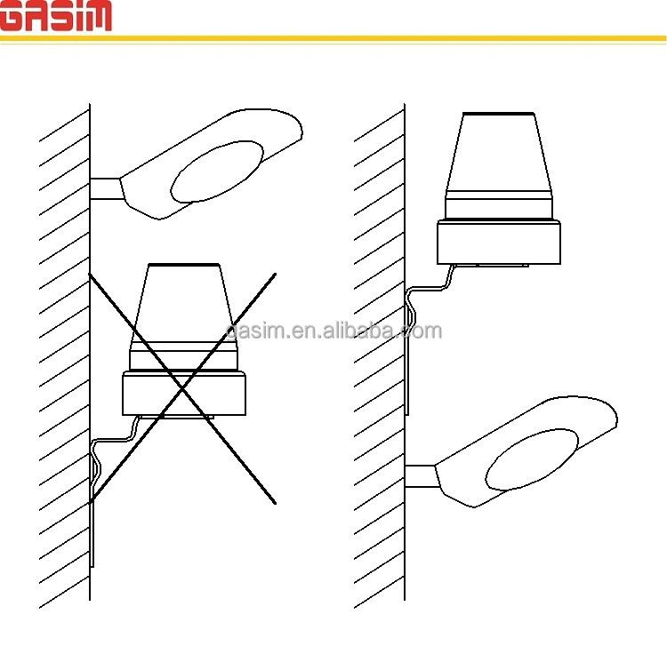 On/off Photocell Sensor Day Night Light And Dark Sensor - Buy Light ...
