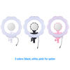Photo Make Up Selfie Light Annular Lamp&Tripod SL-107 Photographic Light 384 Led Bi-color Dimmable Video LED Ring Light