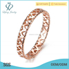 Top sale rose gold heart ring,wedding ring with heart imprint,stainless steel ring