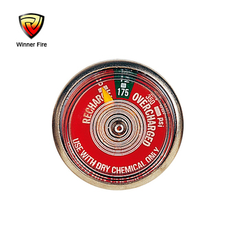 37# brass spring pressure gauge for fire extinguisher