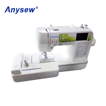 Ase40 Domestic Computerized Embroidery And Sewing Machine Buy Fascinating Computer Sewing Machine Embroidery