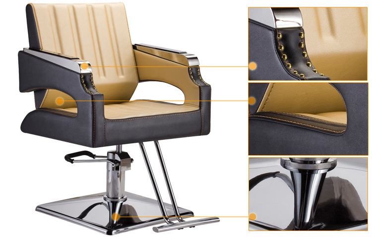 Luxury Wholesale Barber Supplies/used Barber Chairs For Sale/beauty Salon  Furniture (KM
