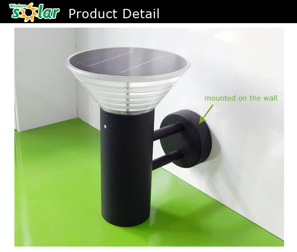 Outdoor Solar Lights Parts: China Supplier Outdoor Light Led Solar Light Parts(jr-b007