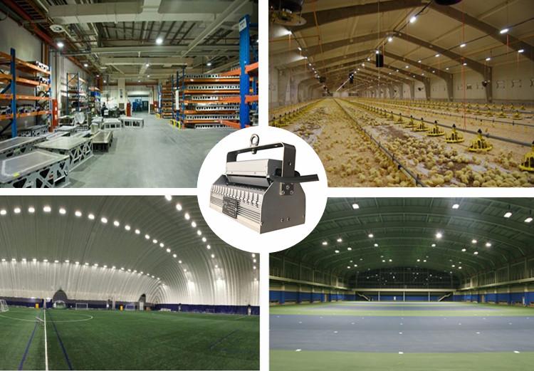 200lm/w 밝은 산업 조명 LSLEDS led 높은 베이 빛 100W 200W 선형 하이 베이 조명 5 년 보증