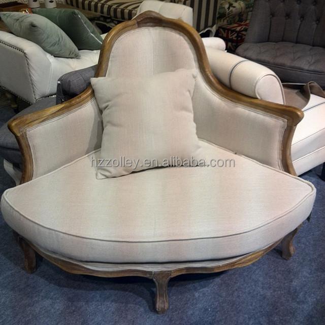 furniture one. unique design wedding furniture one seat settee oak wooden corner sofa chair