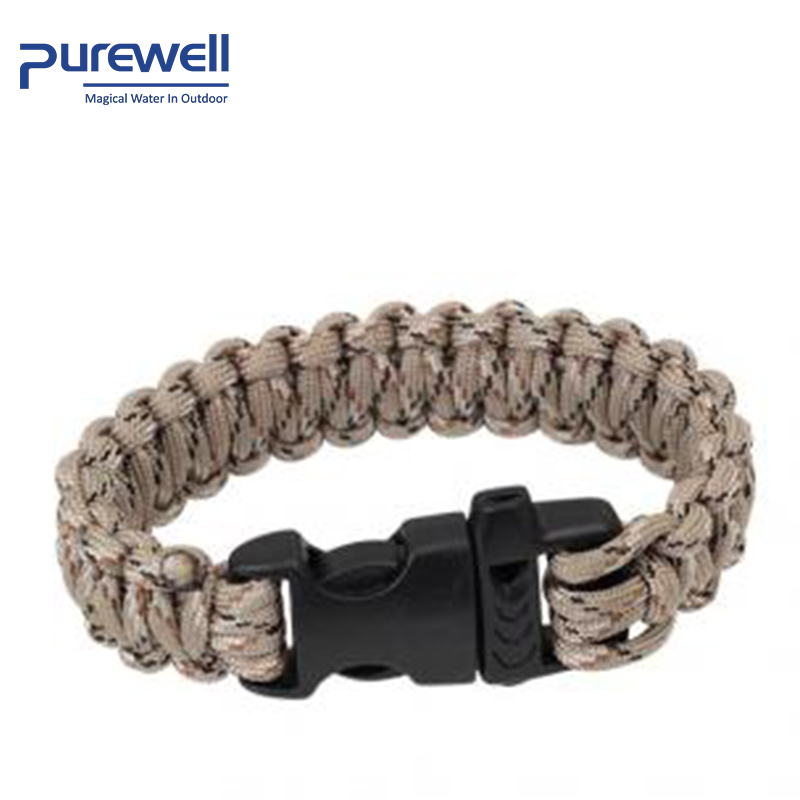 Survival Gear multifunctionele Paracord Armband Survival Kits Fire Starter