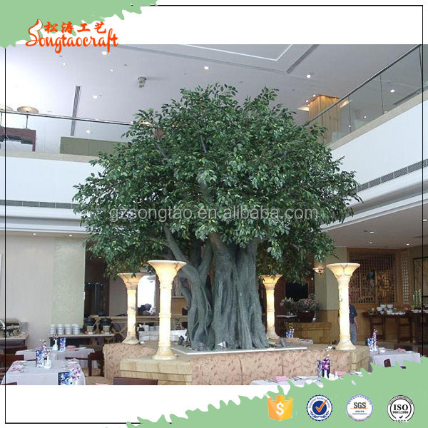 artificial ficus tree,artificial banyan tree bonsai,artificial ficus leaves