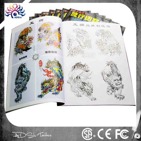 Factory Tattoo Flash Art Books