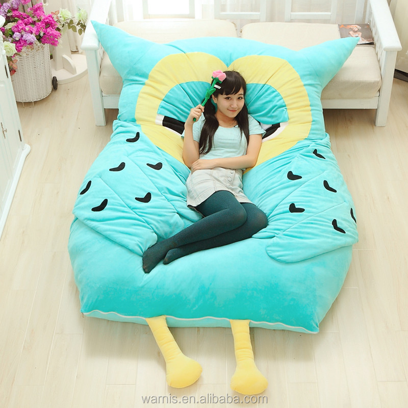 2.3m*1.9m Tatami Futon Plush Stuffed Owl Sleeping Bed Leisure Floor Mattress Pad - Buy Owl Toy ...