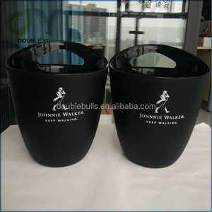 Top quality custom plastic beer ice bucket, ice trays