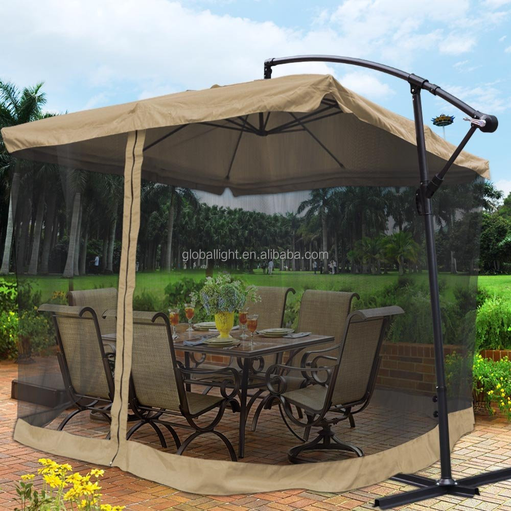 Outdoor Umbrella Mesh, Outdoor Umbrella Mesh Suppliers And Manufacturers At  Alibaba.com