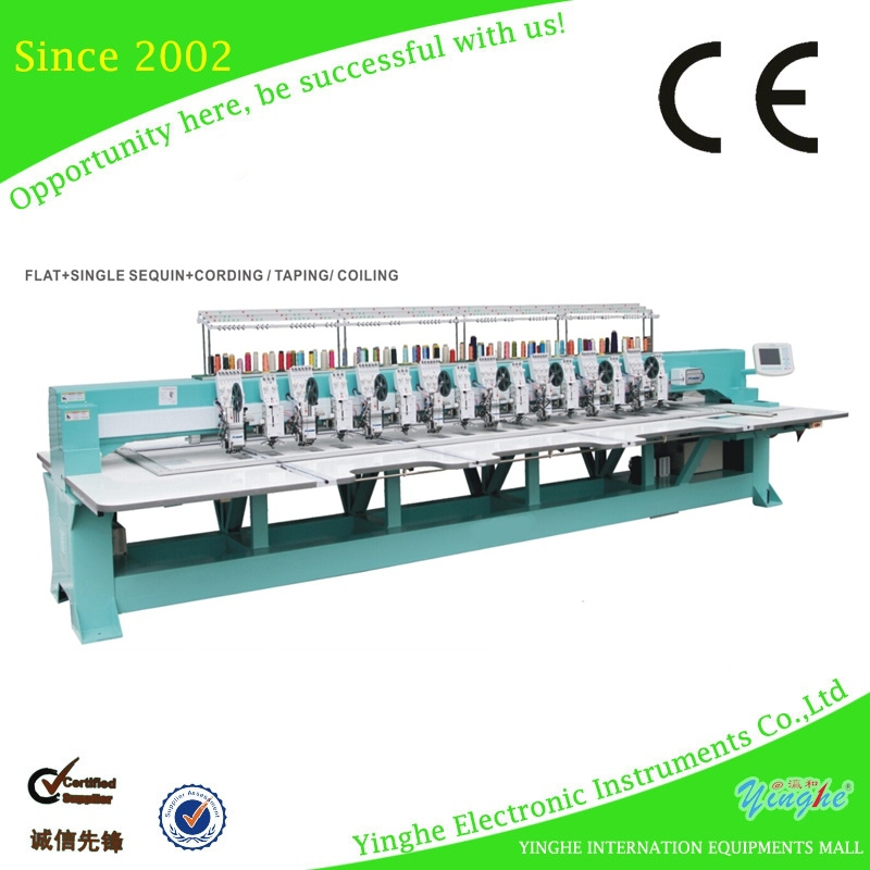 Durable new 920 high speed flat embroidery machine
