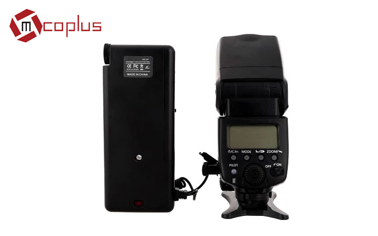 Mcoplus Sf-17 External Battery Adapter Flash Battery Pack Sd8a-s ...