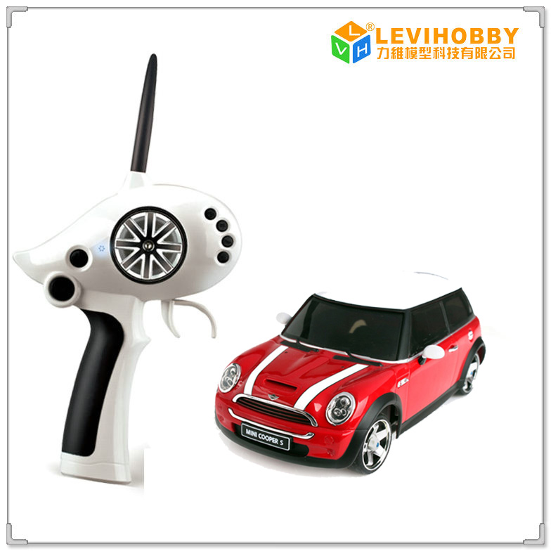 Brand New Mini Cooper Firelap Electric Rc Car 2 4g Remote Control For