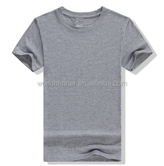 100% egyptian organic cotton blank custom printing t-shirt export clothes /your own band clothing