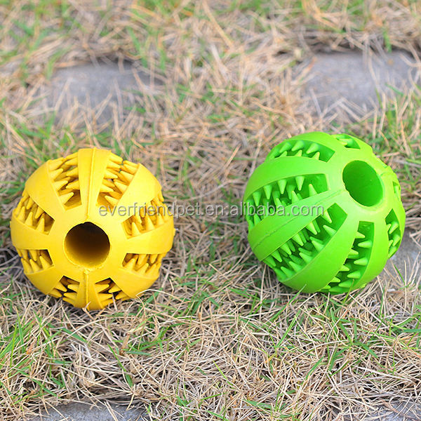 2014 hot ! Natural Squeaky Ball Rubber Dog Toy & Custom Rubber Dog Balls