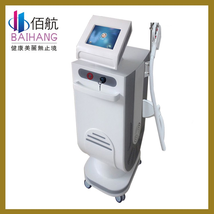 Factory price no pain e-light hair removal device, e-light skin tightening machine !!