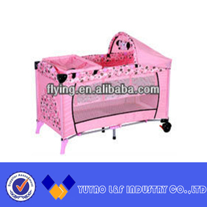 High quality folding baby crib