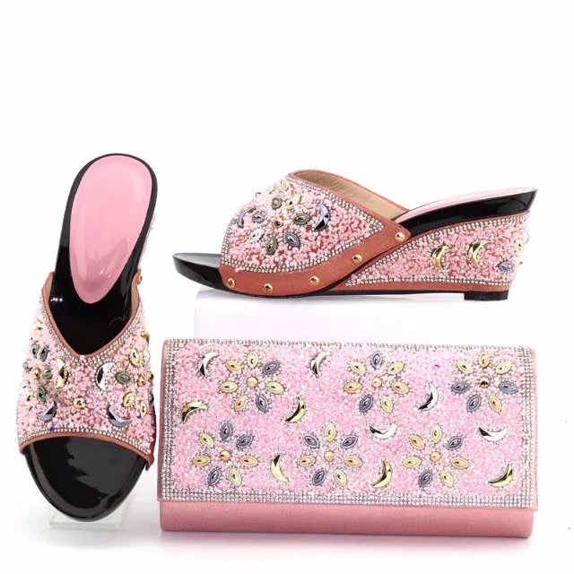 italian Sinyafashion set women shoes matching lady wedding wholesale bag dress and H5wrqHZ