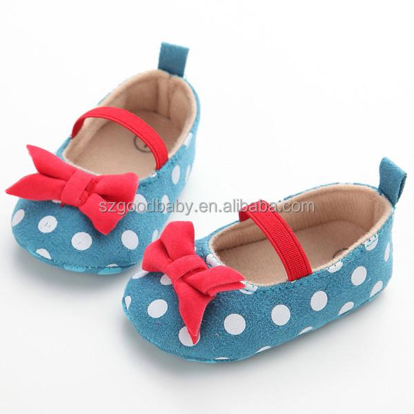 Cuero español recién nacido Rosa mary jane bebé niña zapatos de ...