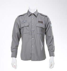 Wholesale high quality security company officer guard uniforms set dress shirt and trousers for patrol