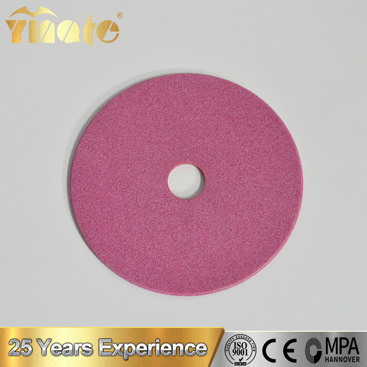 Pink Aluminum Oxide Flat Crankshaft Grinding Cylindrical Surface Grinding Wheels